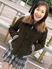Ami is a schoolgirl
