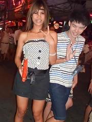 Tall Thai teen with braces